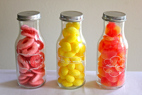 You Are My Fave - candy bottle gifts