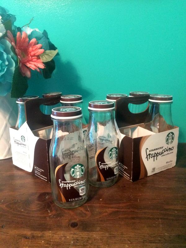 edited starbucks bottles