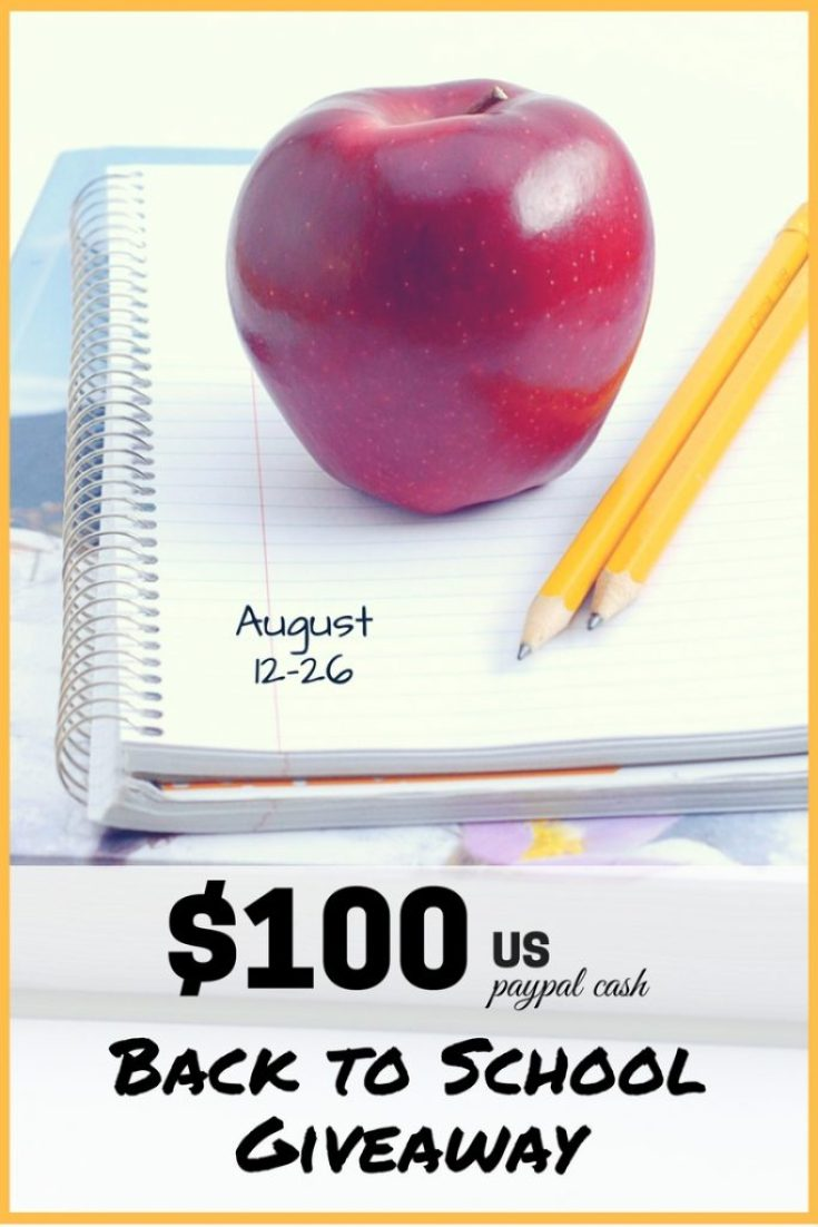 Back to School Giveaway - pinterest