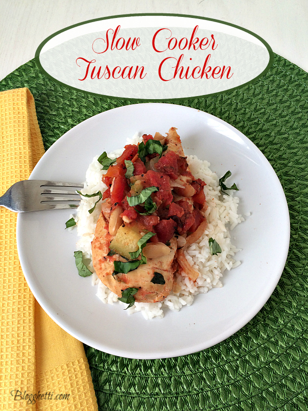 Slow Cooker Tuscan-Chicken