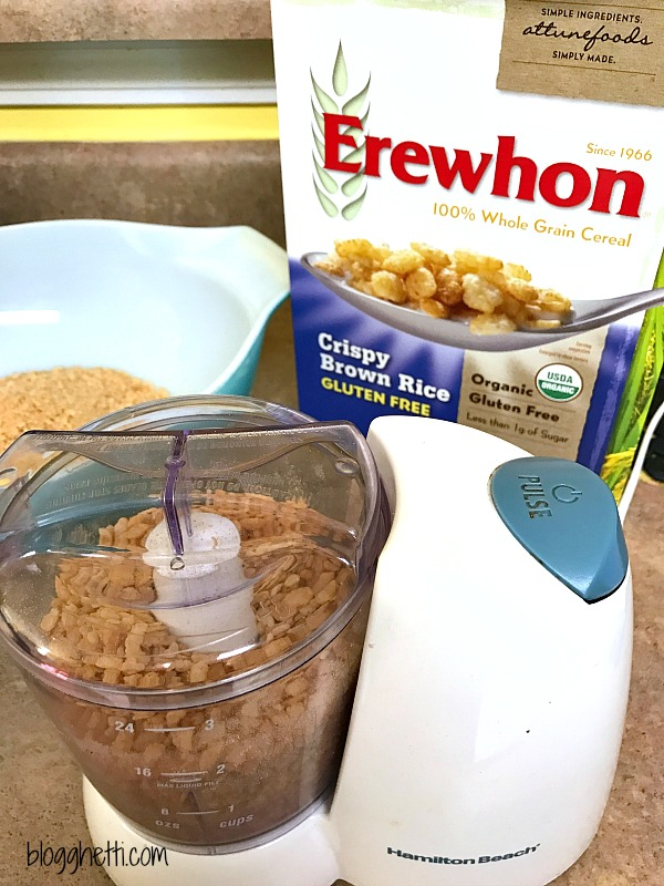 This Gluten-Free Italian Breadcrumb recipe is super easy and takes only a couple of minutes to mix up in your food processor or blender. The breadcrumbs taste amazing and work just like regular breadcrumbs in all of your favorite recipes.