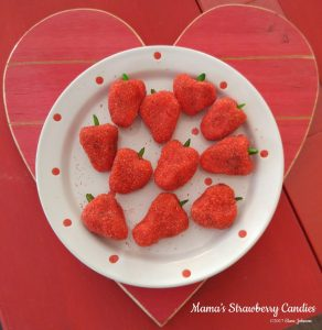 Mama's Strawberry Candies