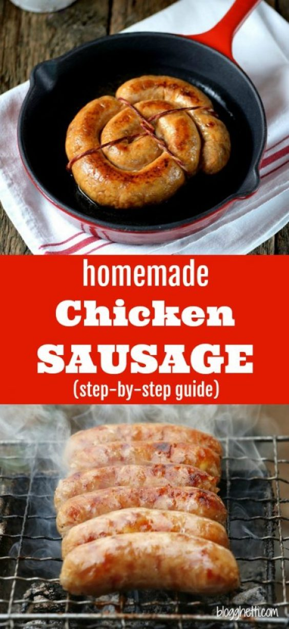 How to Make your own Homemade Chicken Sausage