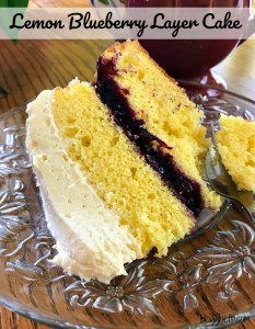 Best Lemon Blueberry Layer Cake