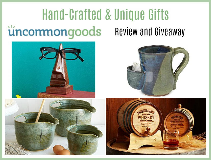 Uncommon Goods has the perfect gift for those picky or one-of-a-kind persons on your gift list. Quality hand-crafted and unique gifts that will become memorable treasures for years.