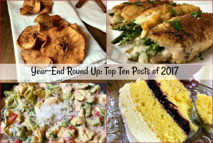 This is the year-end round up of the top ten posts of 2017 featuring what you loved about Blogghetti! Simple and delicious recipes and tips that make getting dinner on the table a snap.