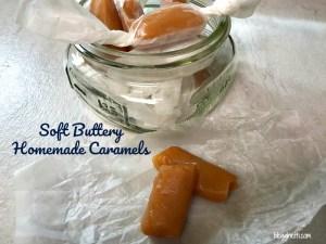 Soft Buttery Homemade Caramels