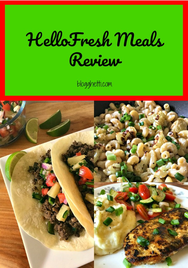 Hello Fresh Family Box Recipes
