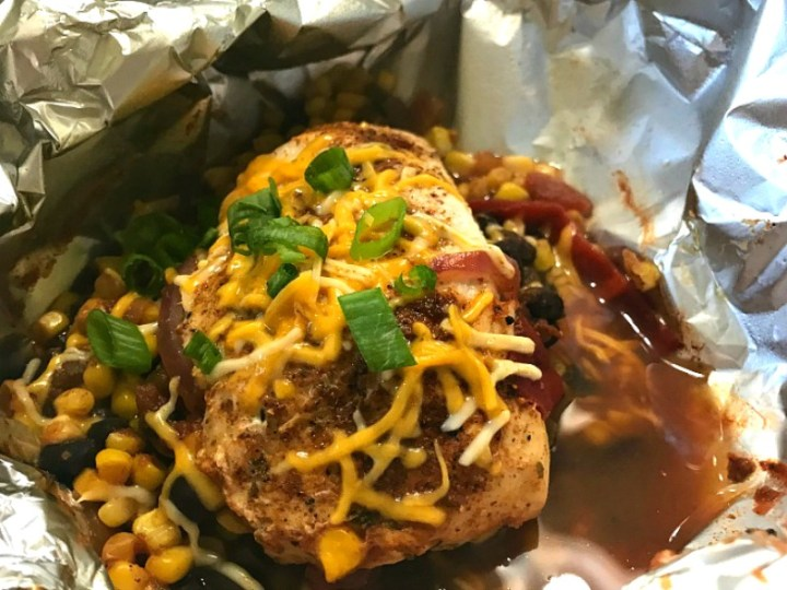 Tex-Mex Chicken Foil Packets feature