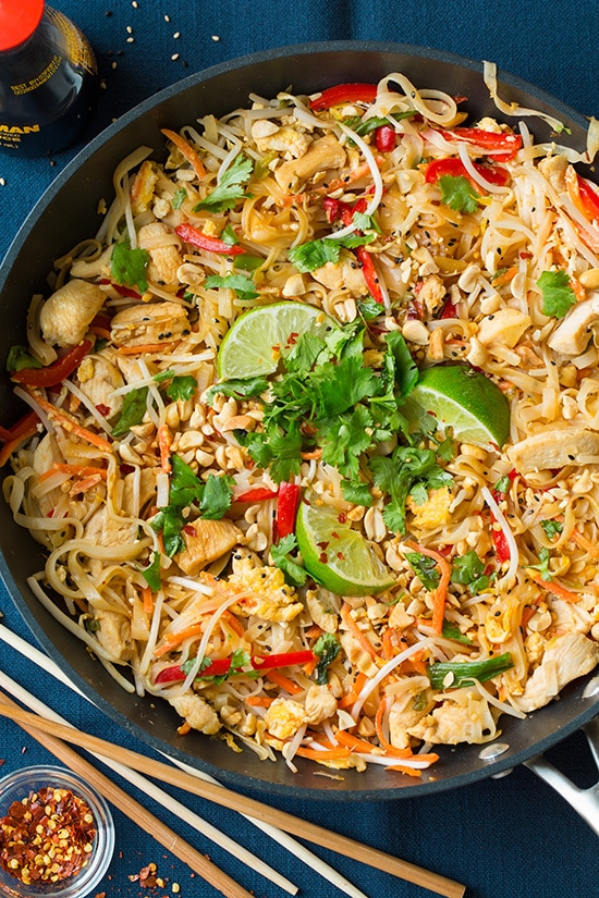 Chicken Pad Thai - Cooking Classy