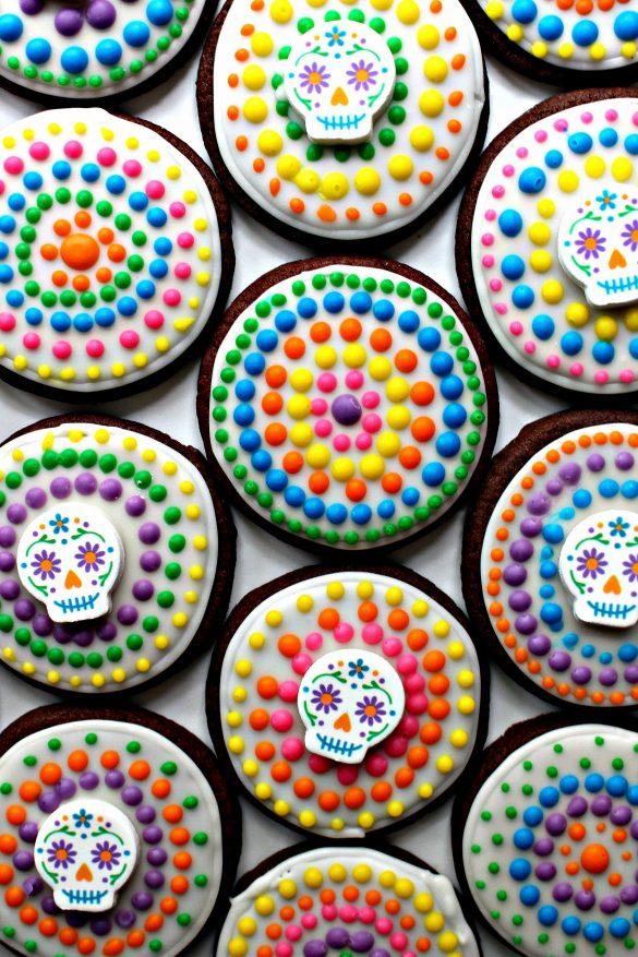Dia de los Muertos Sugar Cookies from The Monday Box