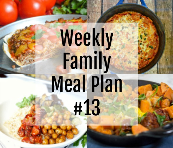 Weekly Family Meal Plan #13 feature