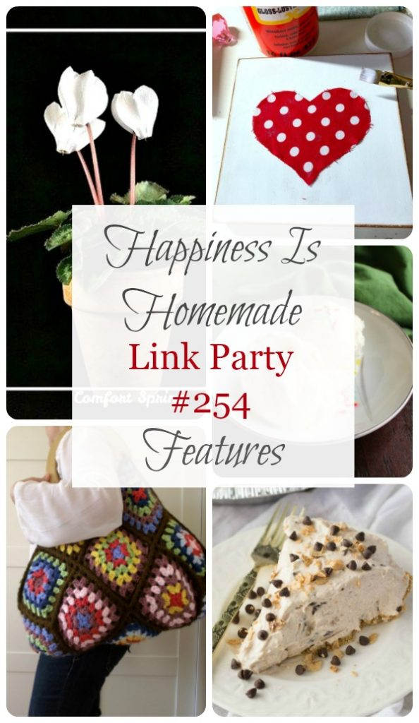 It's time for Happiness is Homemade Link Party and we're so glad you're joining us! We've got the best recipes, DIY projects, crafts, home decor ideas, and so much more. #HappinessIsHomemade