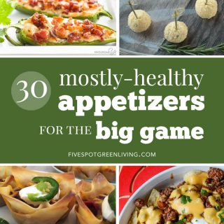 blog-15-appetizers-big-game - Five Spot Green Living