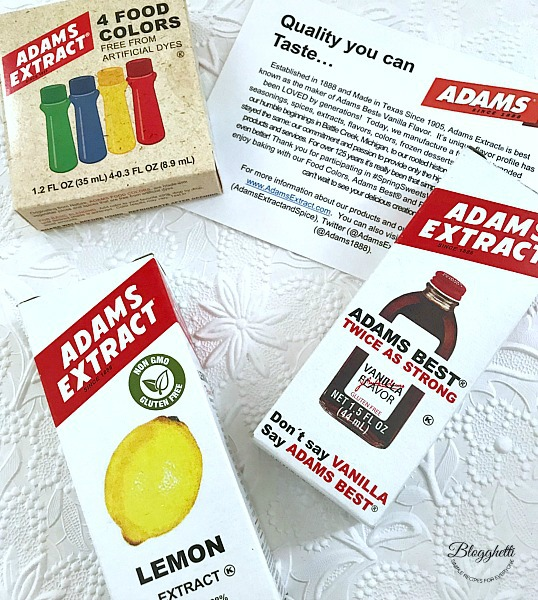 Adams Extracts and flavorings