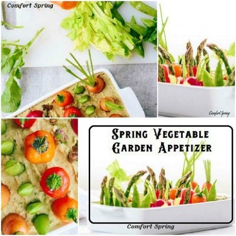 spring garden appetizers