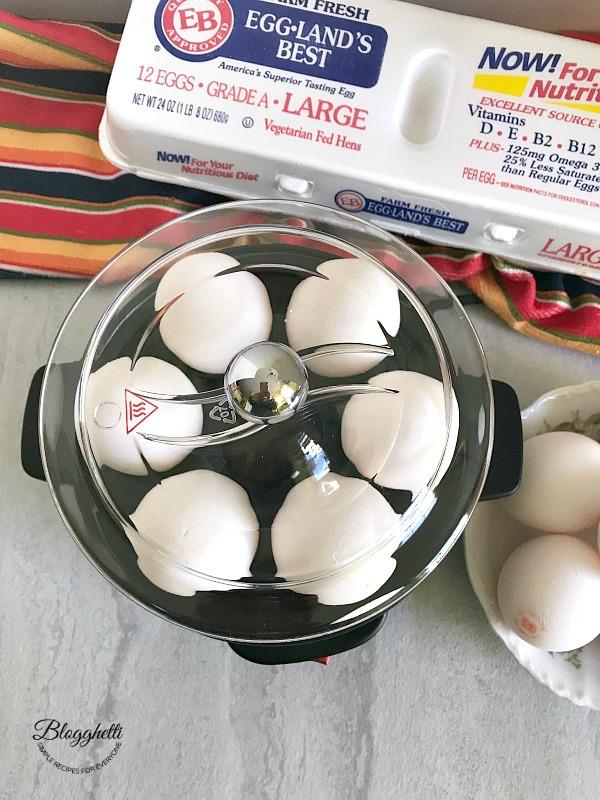 Hamilton Beach Egg Cooker and Egglands Best Eggs
