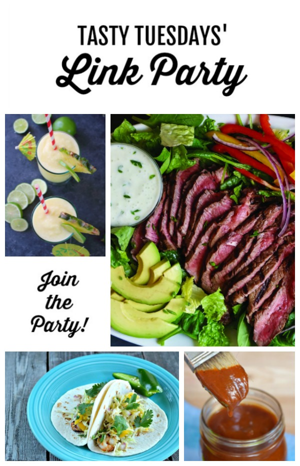 Tasty Tuesdays' Link Party features May 7