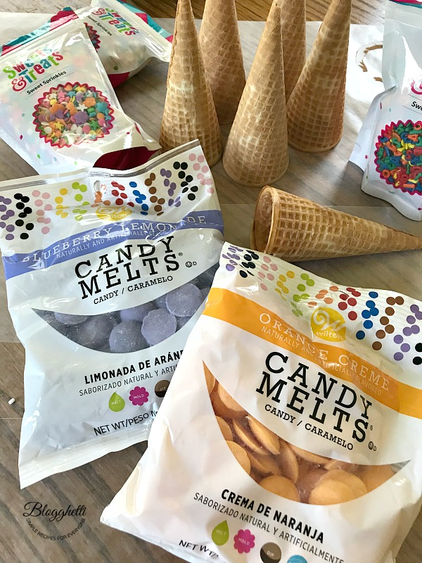 Sponsored Ingredients for Candy Dipped Fruit Cones