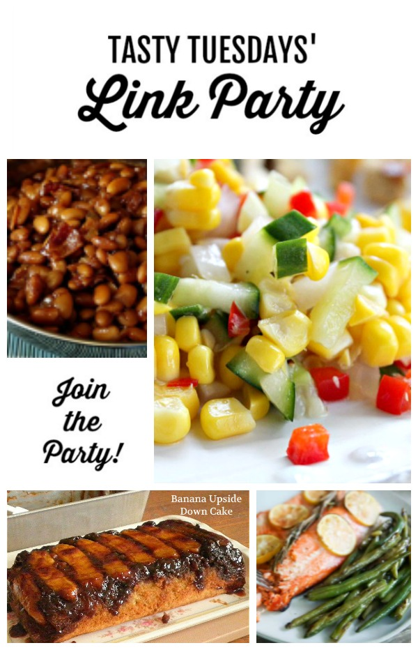 Tasty Tuesdays' Link Party features for July 23