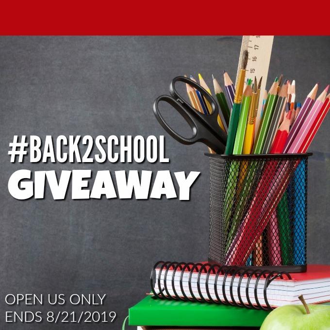 Back2School Giveaway Image