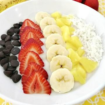 Banana Split Smoothie Bowl