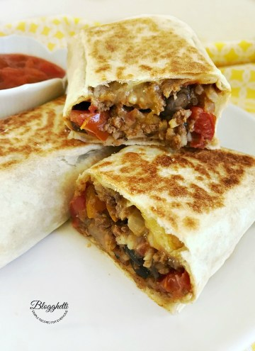 Crispy Southwestern Wraps - feature