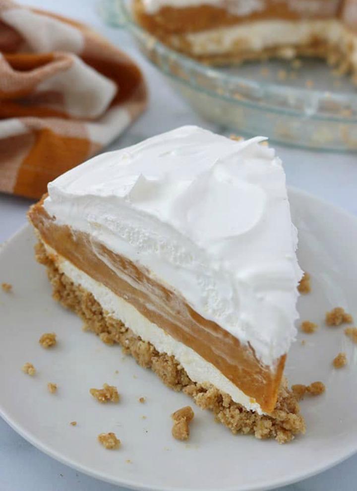 No-Bake-Triple-Layer-Pumpkin-Pie