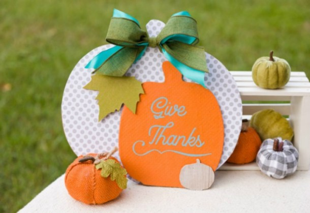 pumpkin trio door hanger
