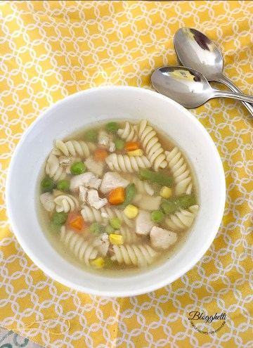 Stove Top Chicken Noodle Soup