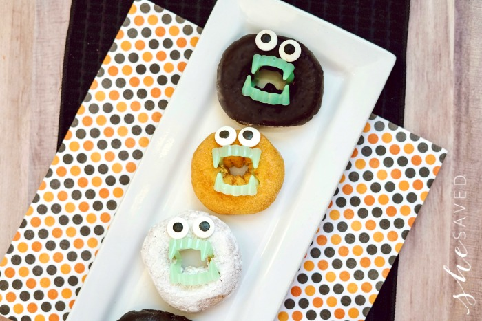 Spooky Donuts with Teeth