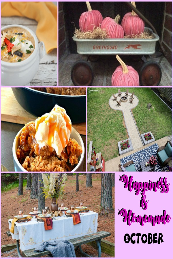 Happiness is Homemade link party collage party 291