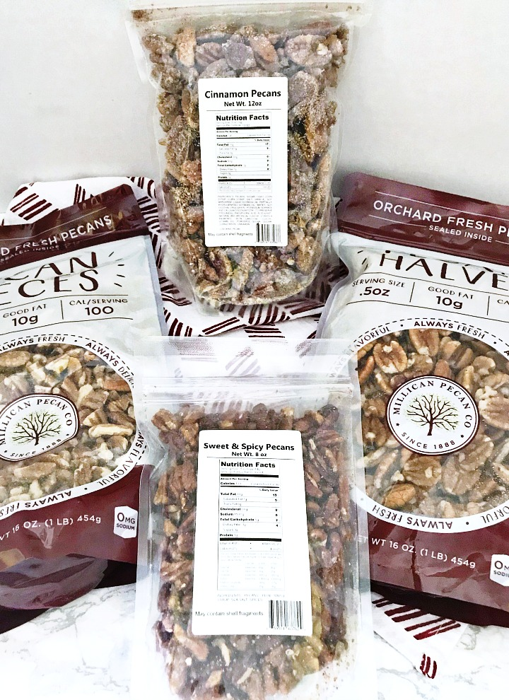 Millican Pecan packages