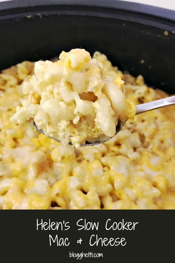 Helens Slow Cooker Mac and Cheese
