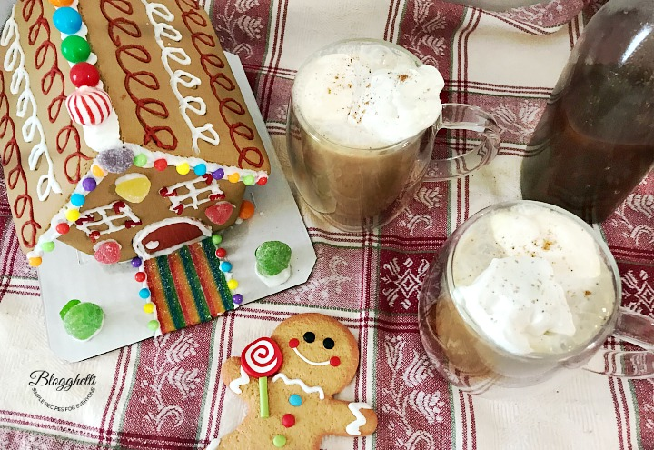 Hansel and Gretel Gingerbread Latte - twitter