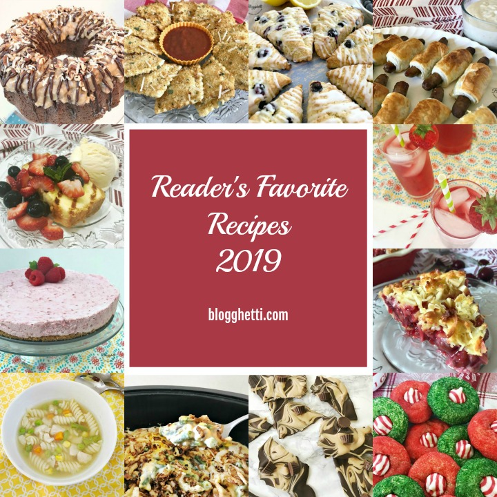 Readers favorite recipes 2019