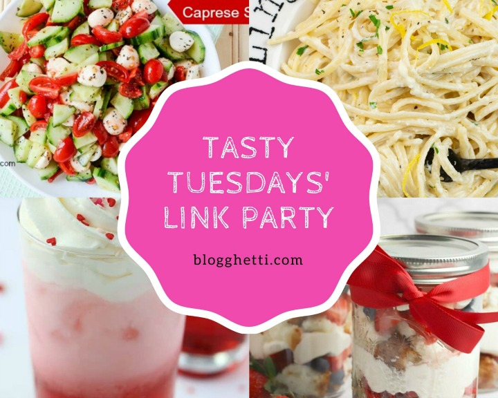 May 26 features Tasty Tuesdays' Link Party