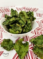 Air Fried Kale Chips