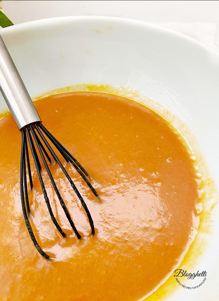 pumpkin mixture for quick bread