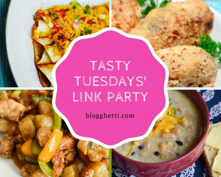 Oct 6 Tasty Tuesdays Link Party features