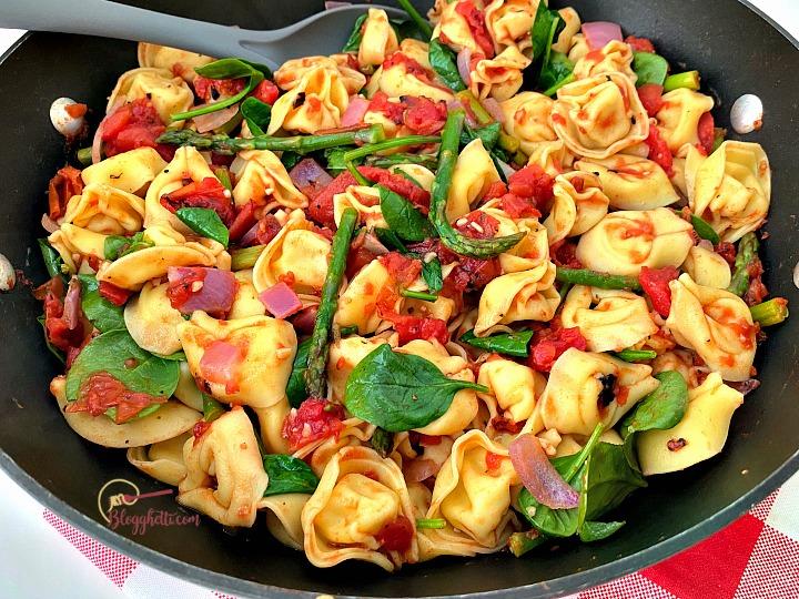 Tuscan Tortellini Skillet Meal