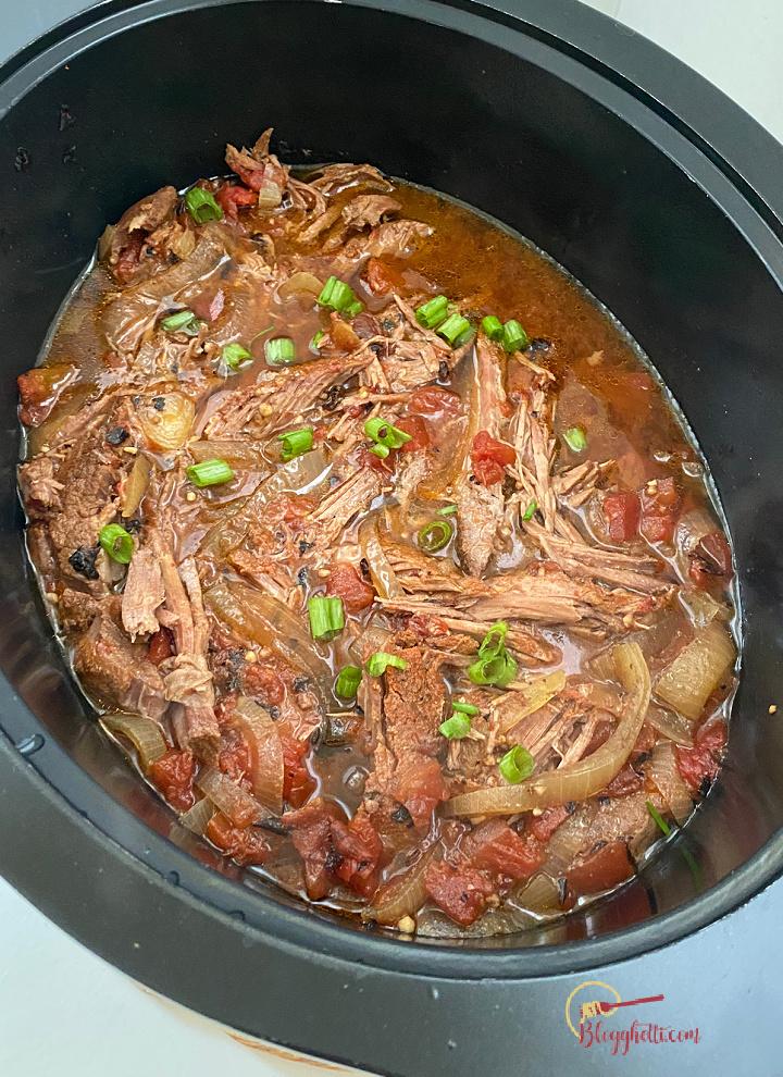everything seasoning beef roast in slow cooker