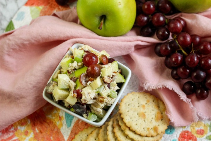 Fancy Chicken Salad with fruit