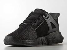 """Chuẩn bị sẵn hầu bao để mua giày Adidas EQT 93/17 Boost """"Triple Black"""""""
