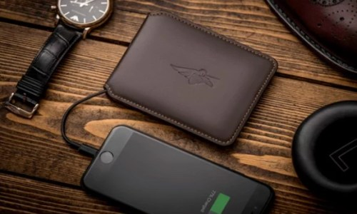 "Meet ""Volterman"", The World's Most Powerful Smart Wallet"