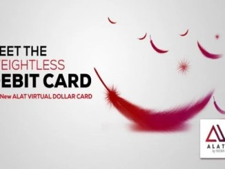 ALAT Virtual Dollar Card Now Available For Easier Naira To USD Transaction