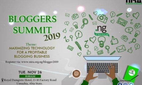 NiRA Blogger Summit in Umuahia, 2019; Registration and Venue