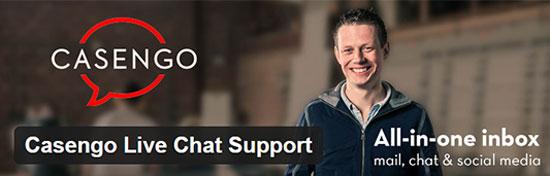 Casengo Chat-Unterstützung