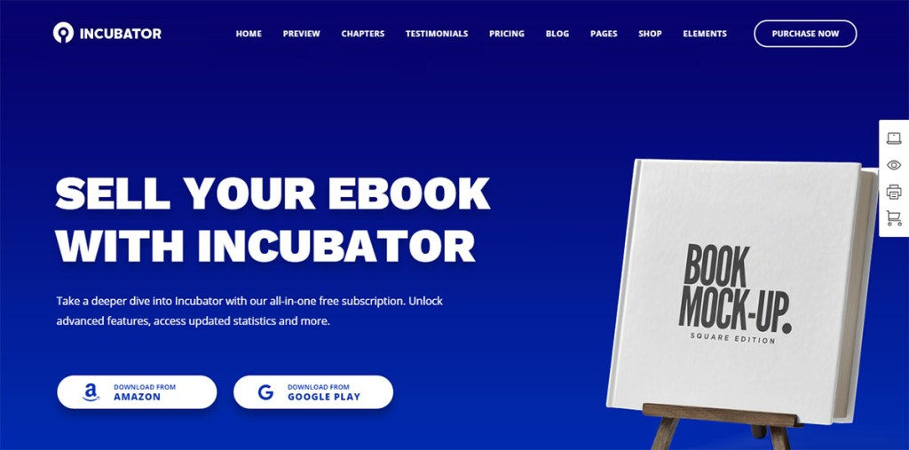 Inkubator - WordPres-Thema