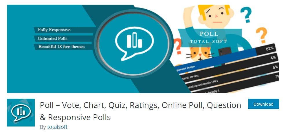 """Umfrage """"Breite ="""" 995 """"Höhe ="""" 456 """"srcset ="""" https://themegrill.com/blog/wp-content/uploads/2017/09/Poll-–-Vote-Chart-Quiz-Ratings-Online-Poll -Puestion-Responsive-Polls -—- WordPress-Plugins.jpg 995w , https://themegrill.com/blog/wp-content/uploads/2017/09/Poll-–-Vote-Chart-Quiz-Ratings-Online- Poll-Question-Responsive-Polls -—- WordPress-Plugins-300x137 .jpg 300w, https://themegrill.com/blog/wp-content/uploads/2017/09/Poll-–-Vote-Chart-Quiz-Ratings -Online-Poll-Question-Responsive-Polls -—- WordPress- Plugins-768x352.jpg 768w """"Größen ="""" (maximale Breite: 995px) 100vw, 995px """"> </ h3> </p> <p> Wenn Sie bereit sind, Ihre Zuschauer zu fragen, was sie als nächstes wollen, oder nur eine lustige Umfrage oder Umfrage, um mehr Publikum anzulocken und anzuziehen, ist <strong> Umfrage </ strong> der richtige Weg!  Survey ist ein großartiges WordPress-Test-Plugin, das alle Plugin-Funktionen von einem Test in einem zusammenfasst.  Damit haben Sie die Möglichkeit, Umfragen und Umfragen auf Ihrer WordPress-Site zu erstellen.  Mit einem schönen und einzigartigen Design können Sie ganz einfach so viele Umfragen erstellen, wie Sie möchten, um die Aufmerksamkeit aller auf sich zu ziehen. </ P> </p> <div class ="""
